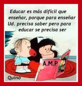 La educación según Mafalda